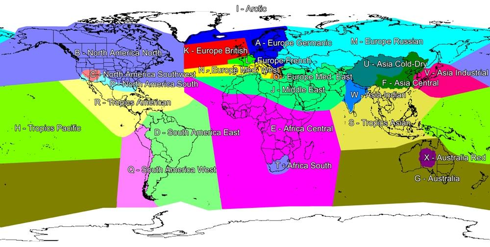 Terrain and scenery the following diagram shows the geographical regions the world is divided into gumiabroncs Images