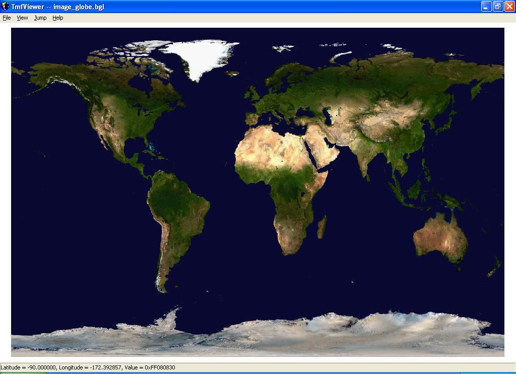 Terrain And Scenery - Global terrain map