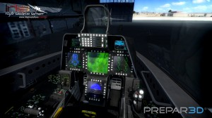 All-New IRIS F-22 Cockpit for Prepar3D v2