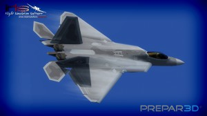 All-New IRIS F-22 Exterior for Prepar3D v2