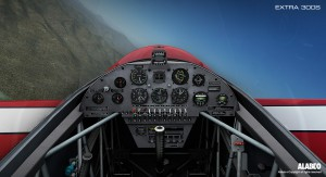 Extra 300s Cockpit from Alabeo for Prepar3D v2