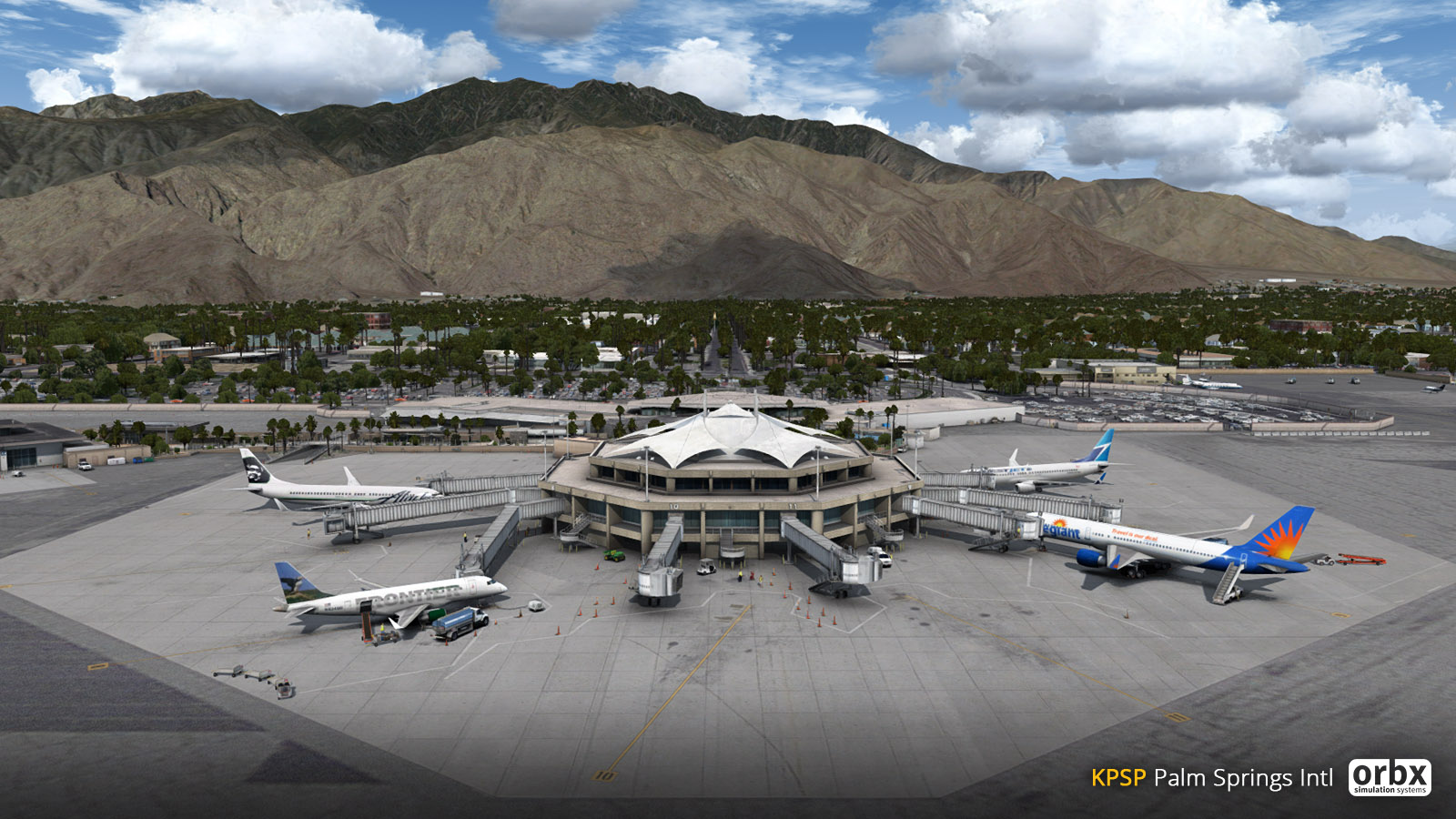 Palm Springs International Airport.